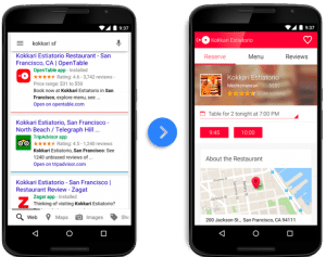 App Indexing gets your app into Google Search