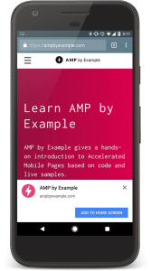 Combine AMP with Progressive Web Apps